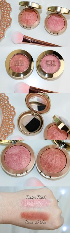 Milani Baked Blush Review & Photos