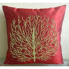 Tree Of Joy  Throw Pillow Covers  16x16 Inches by TheHomeCentric, $23.50