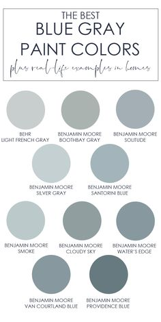The Best Blue Gray Paint Colors &; Life On Virginia Street The Best Blue Gray Paint Colors &; Life On Virginia Street Zoey Black zoeyblack Sanierung A collection of the best […] for home living room color trends Interior Paint Colors, Paint Colors For Home, House Colors, Room Interior, House Color Schemes Interior, Coastal Paint Colors, Office Paint Colors, Paint Colors For Living Room, Gray Interior