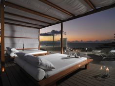 Terraza Privilege al anochecer  #h10conquistador #conquistador #h10hotels #h10 #hotel10