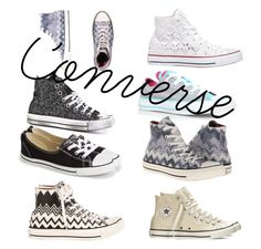 """""""Converse"""" by purplepizza on Polyvore featuring Converse"""