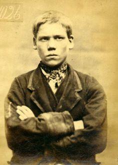 Criminales de Newcastle, 1872: John Reed, 15 años.