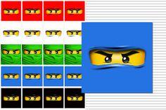 Żółty balonik: Ninjago - zrób to sam