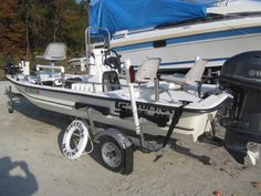 **SOLD**2010 Carolina Skiff J Series J16