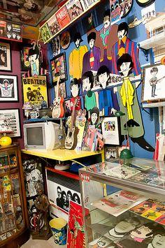 A very intense Beatles Room