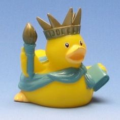 Rubber Duck Of Liberty
