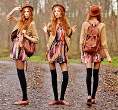 Love Dress, Shoes And Jacket, Backpack (by Ebba Zingmark)
