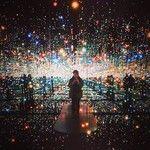 """Yayoi Kusama's """"Infinity Mirrored Room"""""""