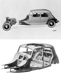 Citroën Traction Avant 7 1935 Citroen Traction, Man, Classic Cars, Automobile, Concept, France, Autos, Vintage Cars, Truck