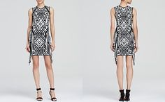Torn by Ronny Kobo Dress - Nara Jacquard Fringe
