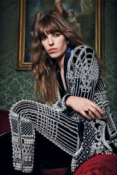Lou Doillon Is So Cool it Hurts, Says the Secret to French Style Is Arrogance for more fashion and beauty advise check out The London Lifestylist http://www.thelondonlifestylist.com