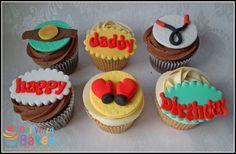 Boxing themed cupcakes - Dollybird bakes