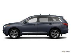 2014 Infiniti QX60-Diamond slate, black exterior. Wheat interior. Sunroof. Luggage rack. Love it!