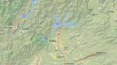 The USGS originally recorded a quake at this location.