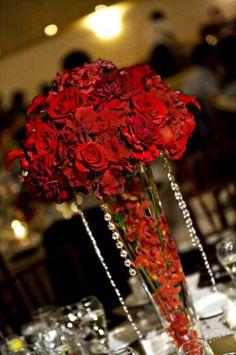 Tall Rose Centerpiece