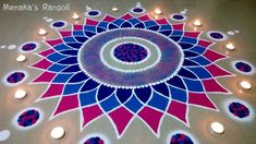 Are you looking for the Best And Simple Rangoli Design For Diwali Here we have collected the best rangoli design for you. Best Rangoli Design, Rangoli Designs Flower, Rangoli Border Designs, Small Rangoli Design, Rangoli Patterns, Rangoli Designs Diwali, Rangoli Designs Images, Rangoli Designs With Dots, Flower Rangoli