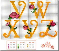abc punto de cruz con flores (3)