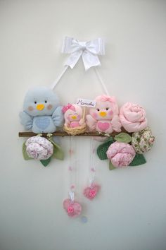 artesanatos maternidade passarinhos - Pesquisa Google