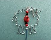 SHEEP BOOKMARK wirework