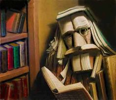 BY ANDRE MARTINS DE BARROS......THE MAN IN THE BOOKS.....ON FOUND SHIT.....