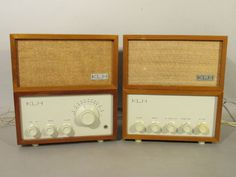 KLH-Model-Eight-8-FM-Radio-Receiver-AND-Model-13-Stereo-Adapter