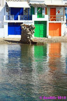 Milos island by AnnAKiritsi, via Flickr