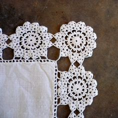 .Crochet edging inspiration
