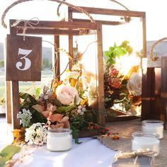 Planning a wedding on a budget? Blend fall florals and winter greenery into these rustic copper wooden lanterns to create a warm, rustic tablescape for a spring or summer wedding, party or special event. Best of all, these rustic wedding centerpieces are affordable and easy to create. Get started with Varathane Premium Wood Stain.
