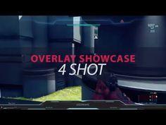 Halo 5 Twitch Overlay Template - 4 Shot Showcase Halo 5, Overlays, Shots, Templates, Design, Stencils, Vorlage, Models