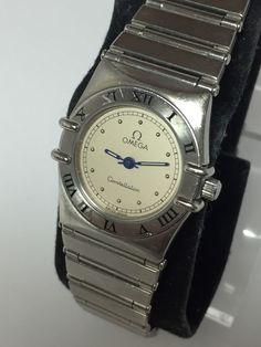 Omega Ladies Constellation Watch in SS Case Quartz Small Wrist Size N219 | eBay