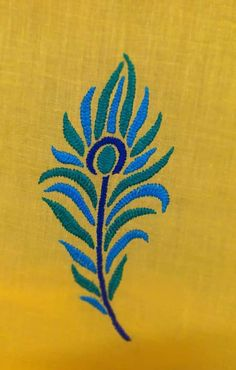 Hand Embroidery Design Patterns, Kurti Embroidery Design, Basic Embroidery Stitches, Hand Embroidery Videos, String Art Patterns, Simple Embroidery, Sewing Stitches, Embroidery For Beginners, Embroidery Techniques