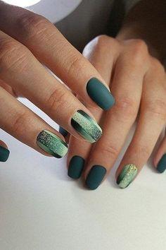 Manicure, Nails, Green, Beauty, Nail Bar, Finger Nails, Ongles, Polish, Manicures