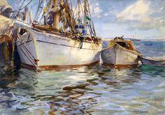 John Whorf - watercolor