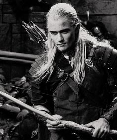 Orlando Bloom as Legolas - 'The Lord of The Rings' Legolas And Thranduil, Aragorn, Tauriel, Legolas Hot, Orlando Bloom Legolas, Fellowship Of The Ring, Lord Of The Rings, J. R. R. Tolkien, O Hobbit