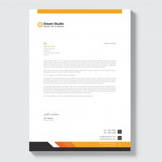 Discover thousands of Premium vectors available in AI and EPS formats Invoice Design, Stationery Design, Branding Design, Letterhead Design Inspiration, Quotation Sample, Company Letterhead Template, Web Design, Header Design, Graphic Design
