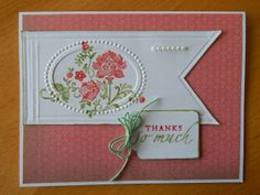 Dianne's cards--SU Fresh Vintage--Sincere Salutations