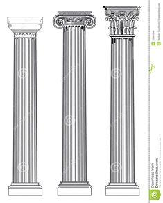 1000 images about arte greca templi e atene on pinterest for Colonne esterne di stile dell artigiano