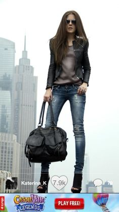 Here another great look for fall or city night this outfit I love