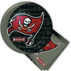 Tampa Bay Buccaneers Party Supplies, NFL Party Supplies