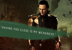 """Loki's Dirty Whispers - Submission: """"Having you close is my weakness."""""""