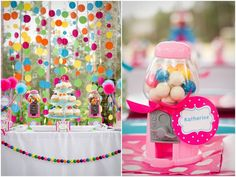 @Kim LaSota saw this party and thought of you!!  Don't know if you have another theme in mind but thought this was so sweet and simple!!