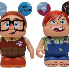 Preview pictures of Up | VINYLMATION KINGDOM  Have to get these ones when they come out! Adorable <3