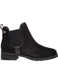 Steve Madden Graaham Suede boots in Black (Black Suede) | Lyst