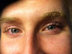 3D lashes look amazing even on a man!