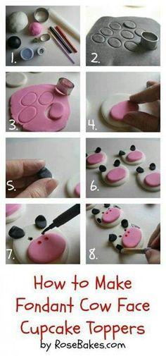 Koeiencupcakes maken!
