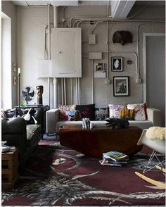 Industrial Factory loft