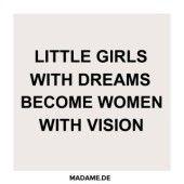Spruch über Visionen