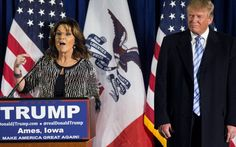 """Palin Backs  Trump, Murders Irony 