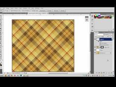 It's a Plaid, Plaid World: creating customized & textured plaid swatches, changeable on the fly :-) #Deke #textiles #tutorial