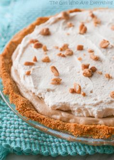 Peanut Butter Pie Recipe | The Girl Who Ate Everything